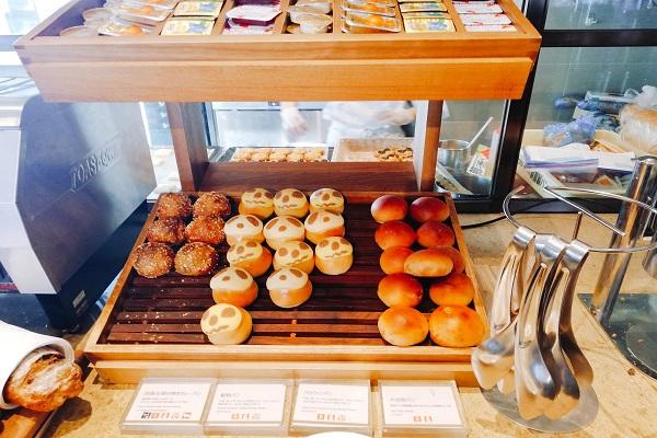 神戸ポートピアホテルの朝食ブッフェ