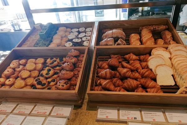 神戸ポートピアホテルの朝食ブッフェのパンの画像