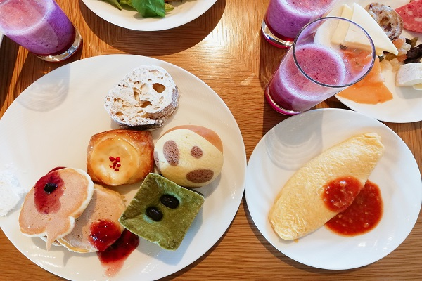 ゴコクの朝食ブッフェの画像