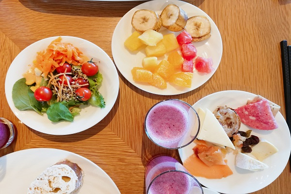 レストラン ゴコクの朝食ブッフェの画像