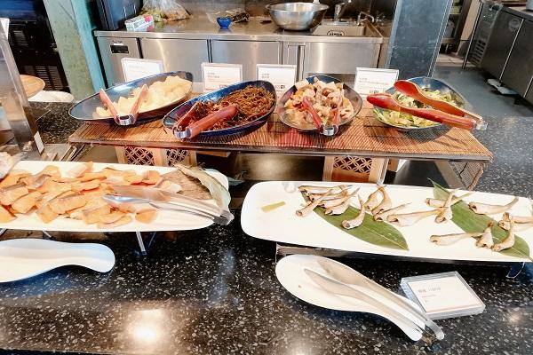 神戸ポートピアホテルの朝食ブッフェ 和食の画像