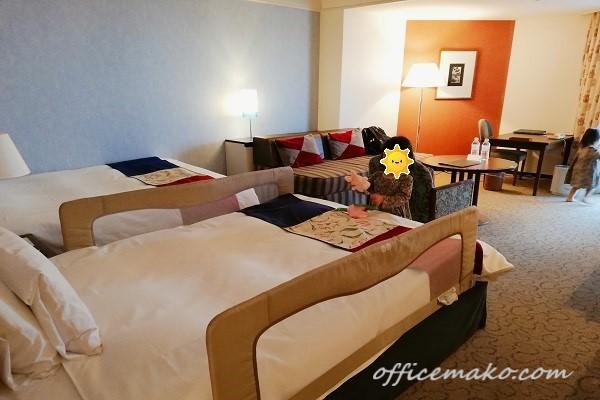 神戸ポートピアホテル南館の客室の画像