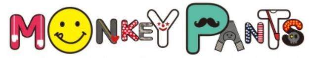モンキーパンツのロゴ
