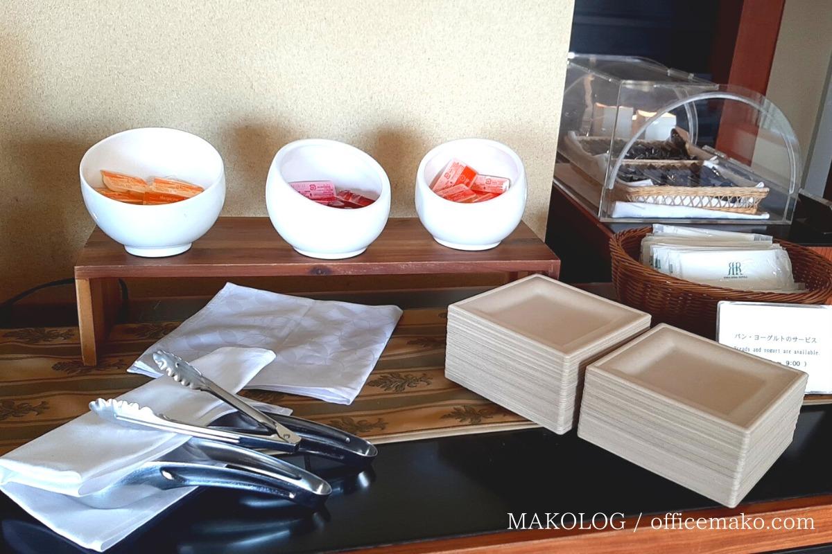 リーガロイヤルホテル大阪のカフェラウンジのジャム