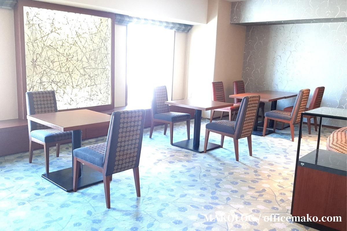 リーガロイヤルホテル大阪のカフェラウンジ