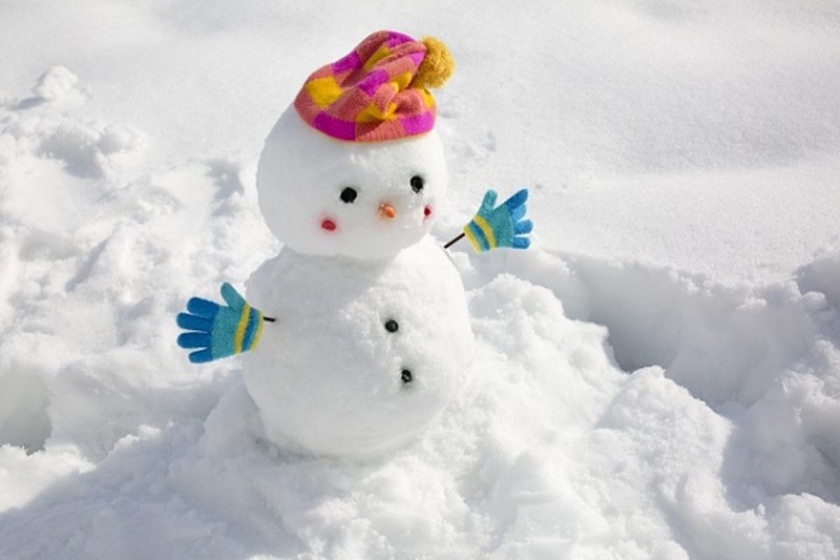 雪だるまの画像