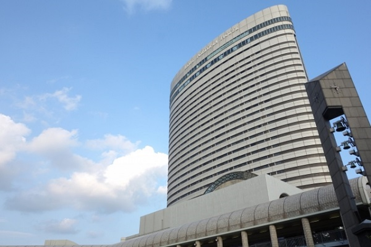 神戸ポートピアホテル外観の画像