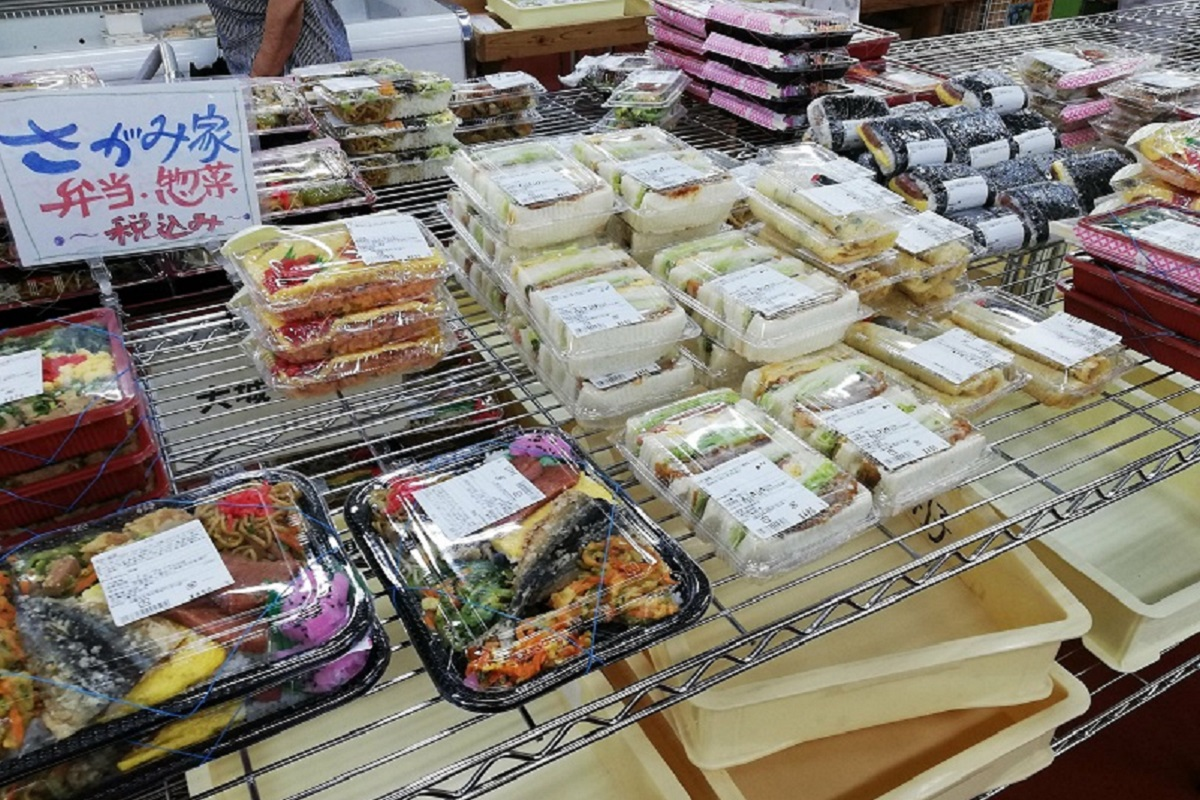 うまんちゅ市場のお弁当売り場の写真