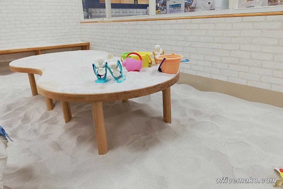 ピュアハートキッズランド フレスポしんかなの砂場の写真
