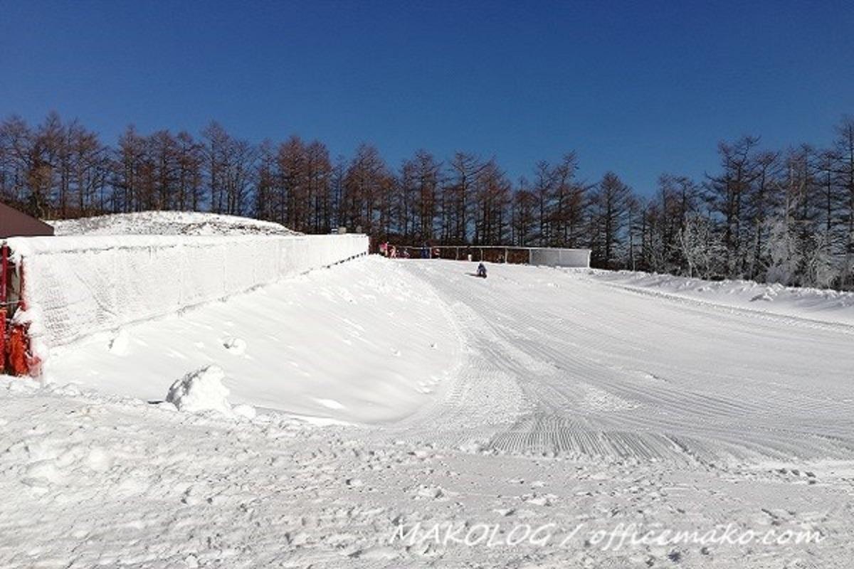 ソリ滑りの場所の画像